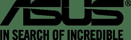 ASUS logo negro